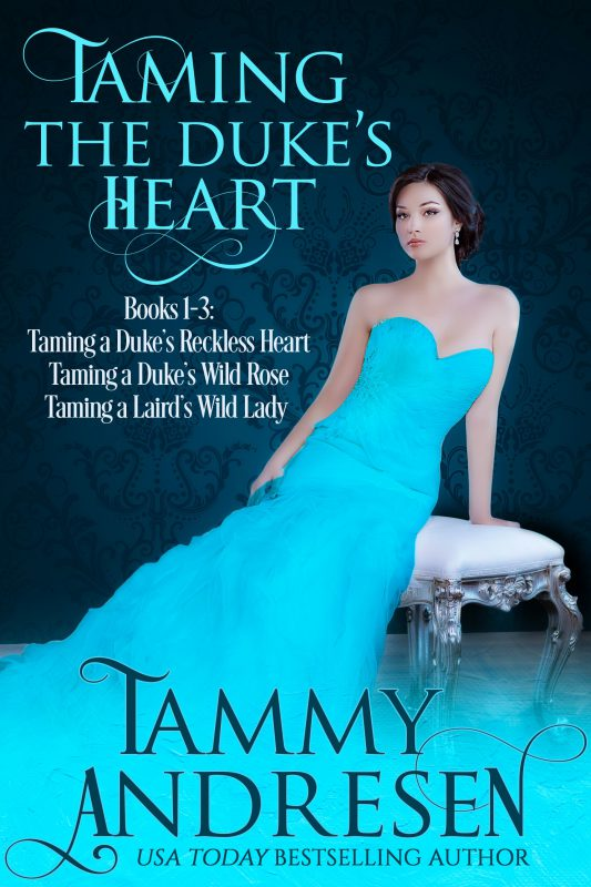 Taming the Duke's Heart Books 1-3